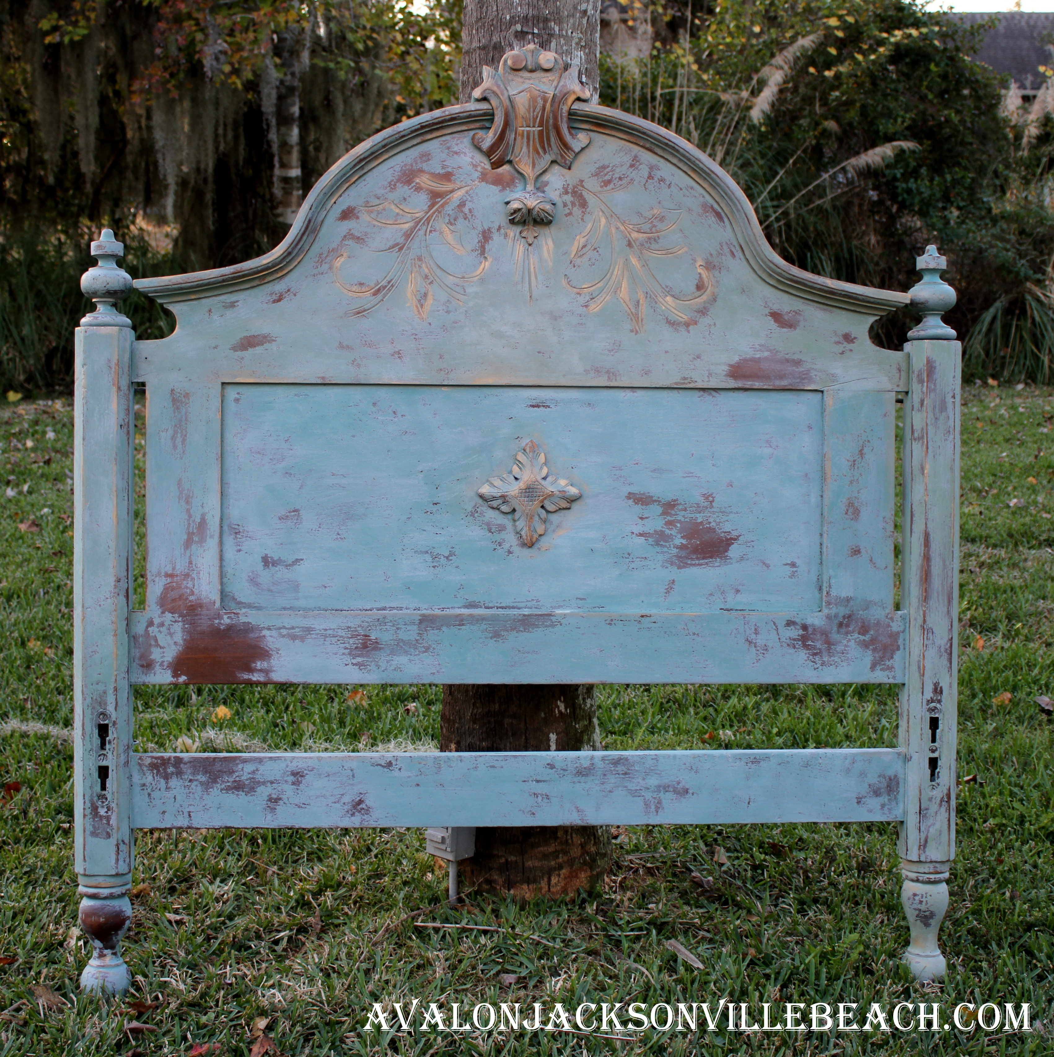 Blue shabby chic furniture - Milk Paint Shabby Chic Furniture