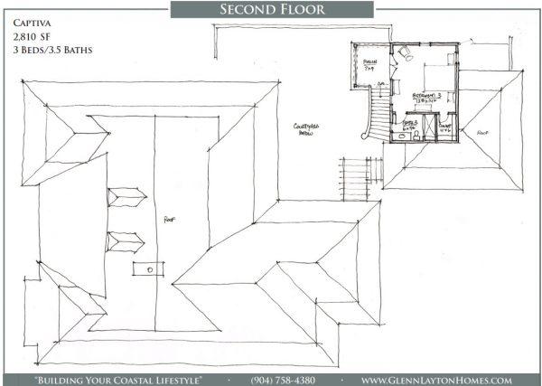 The Captive Single Story House Plan - 2nd Floor