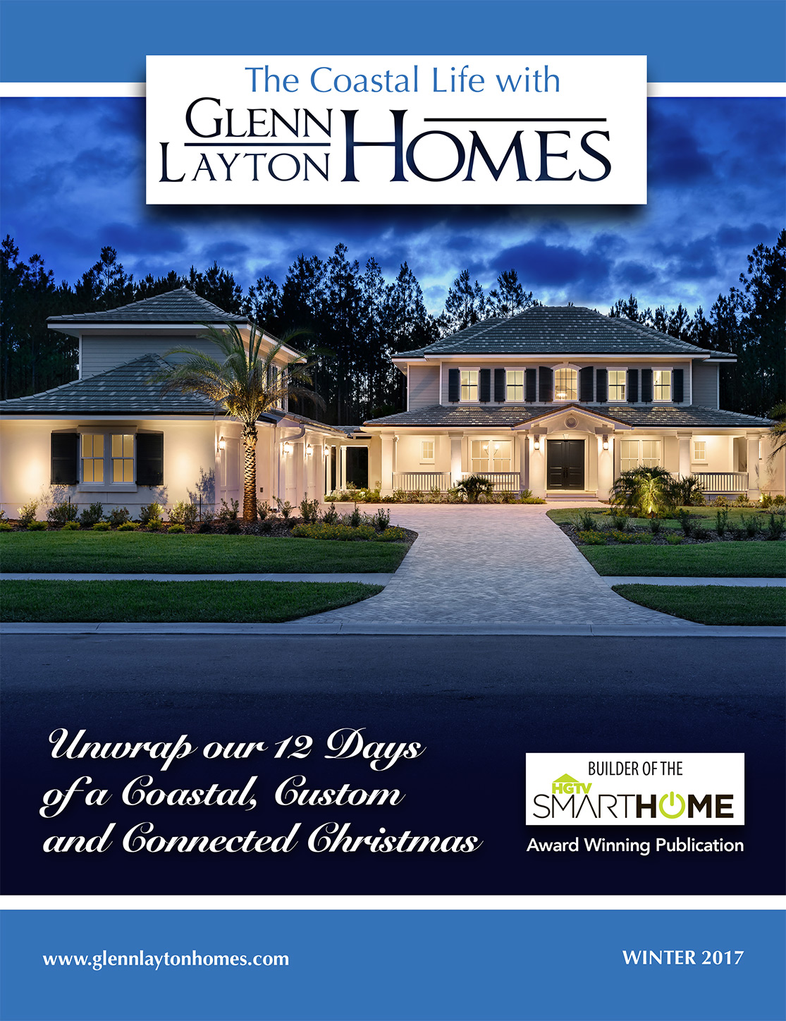 Coastal life magazine glenn layton homes jacksonville for Custom home builder magazine